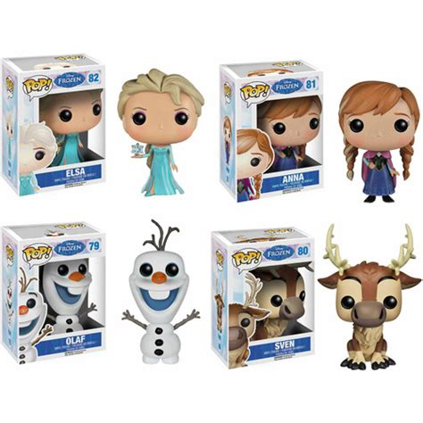 Funko Pop Sven funko disney frozen pop vinyl set elsa olaf and sven walmart