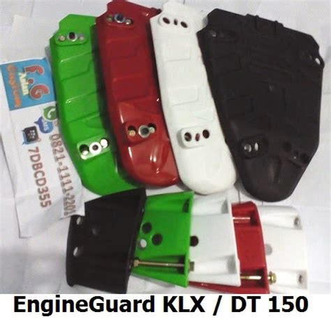 Sale Pelindung Mesin Klx 150 Merah bmx engine shock frame guard trail motocross supermoto