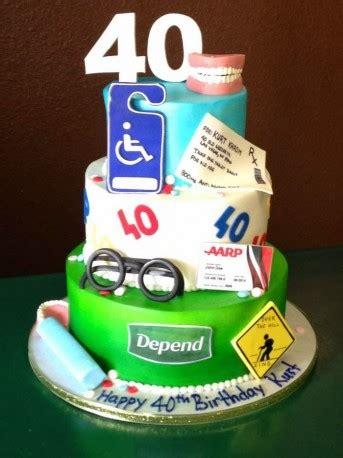 Funny 40th Birthday Cakes, Birthday cakes for men ~ Cakeandlyric.com   baby shower ideas