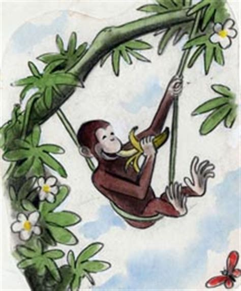 curious george swinging bbh gallery monthly mar 11