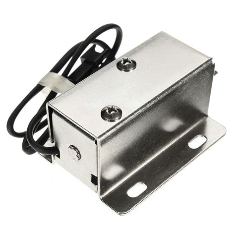 lock cabinet assembly 6v dc 1 5a electric lock assembly solenoid cabinet door