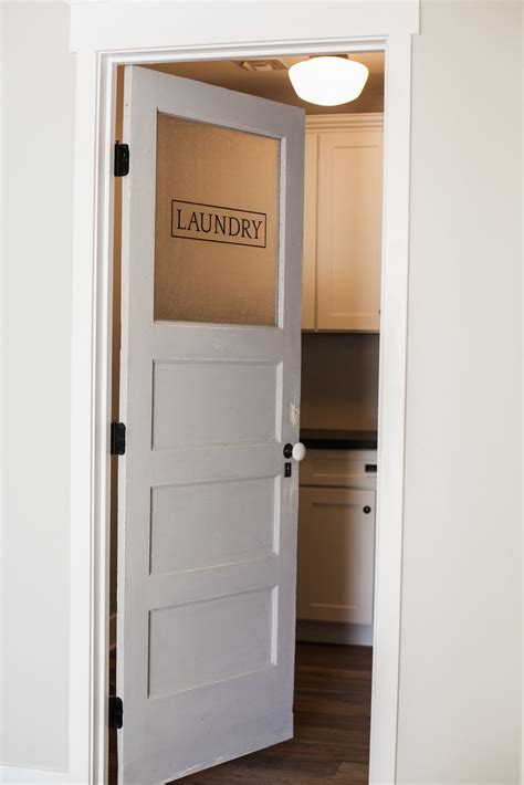 the door laundry best 25 laundry room doors ideas on