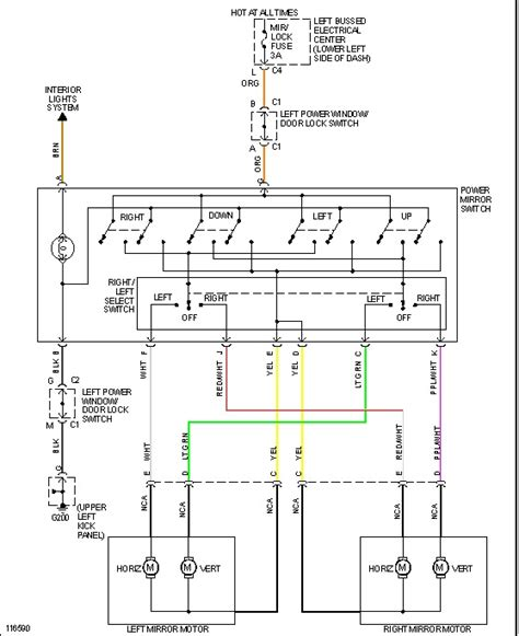 1999 gmc power window switch wiring diagram