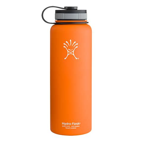 hydroflask colors hydro flask 40oz wide color orange zest ebay
