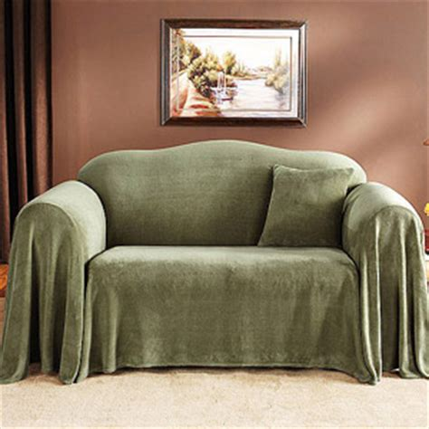 settee covers and throws mainstays plush sofa furniture throw green artichoke