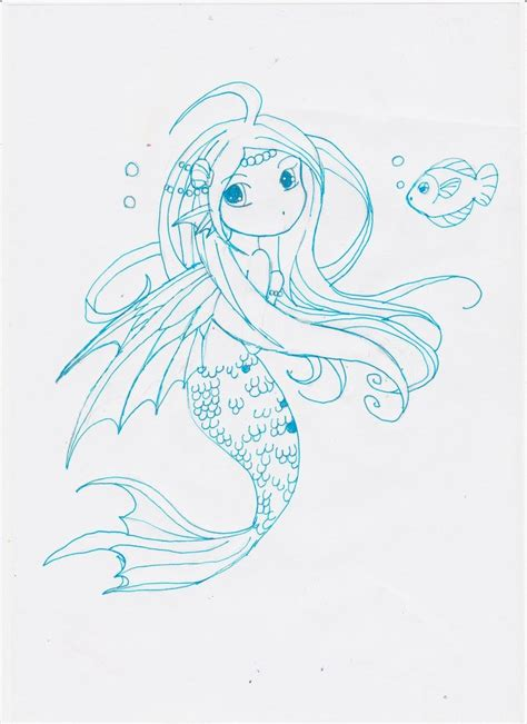chibi mermaid lineart by kaitoucoon on deviantart mermaid chibi by snarlwolf on deviantart