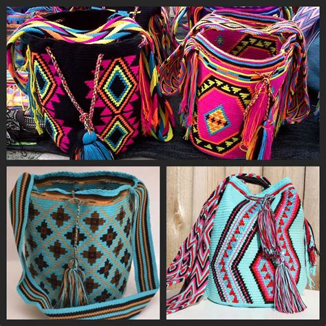 Tas Vintage 4 patroon mochila tas rood zoeken tassen