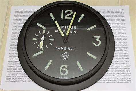 ardigain wall clock panerai rolex ap dll