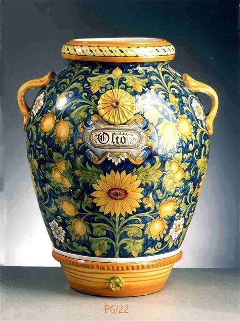 jar olio dec lemons sunflowers full decorated heigh