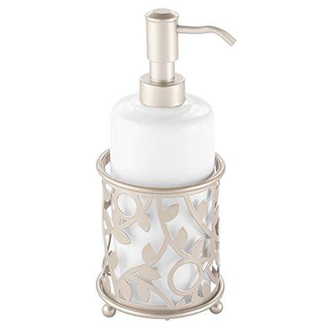 Dispenser Qq interdesign vine ceramic soap and lotion dispenser for kitchen or bathroom countertop
