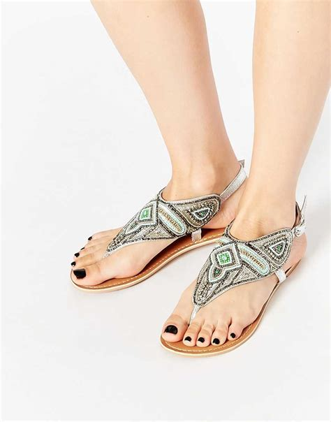 shoes new look 2016 shoes new look flat beaded sandals
