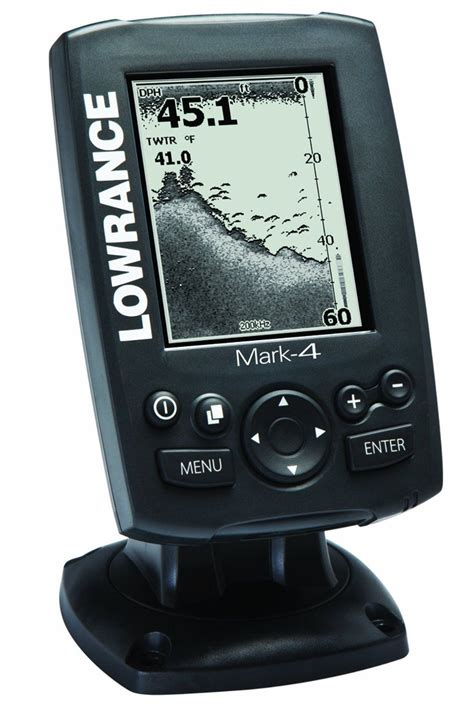 boat gps chartplotter reviews lowrance mark 4 combo base fishfinder and