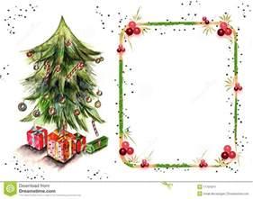 Fruit Christmas Tree Ornaments - christmas card for text stock image image 11791811