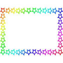 star border rainbow public domain clip art image wp polyvore