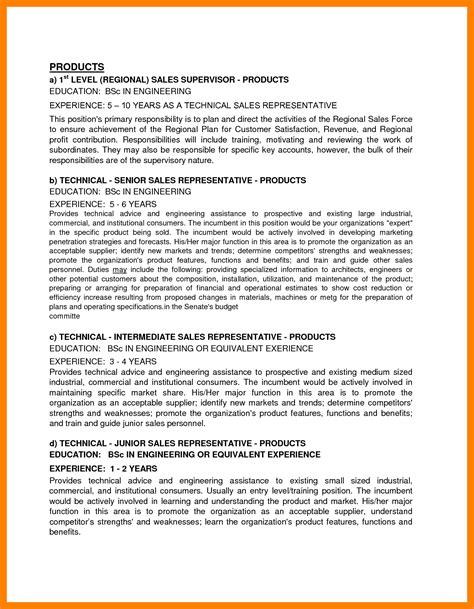 9 business outline exle broad resume