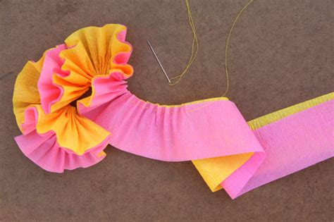 How To Make Streamers With Paper - crepe streamer ideas