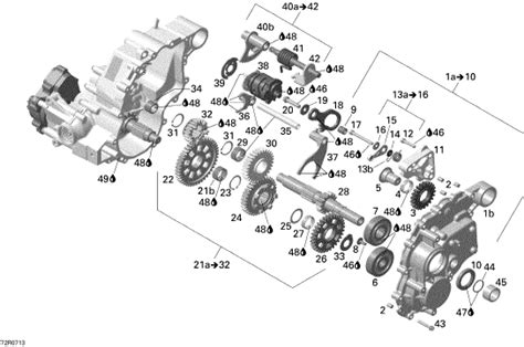 can am parts diagram bearing and seal kit availability can am atv forum