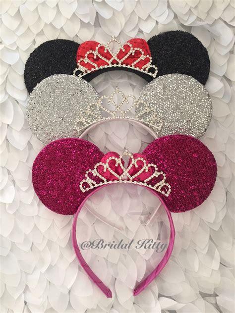Mahkota Tiara Crown Bridal Shower Small With Veil Without Veil Sc0017 disney wedding minnie mouse ears crown tiara disney