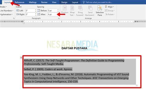 cara membuat daftar pustaka di word secara otomatis membuat daftar pustaka dari file pdf cara membuat daftar