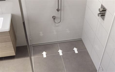 Bathtub Drains Types Linear Shower Drains Easy Drain Barrier Free Showering