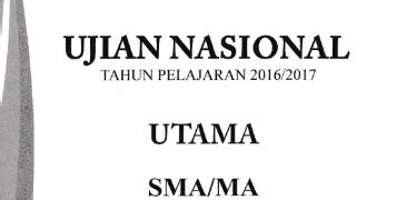 Akasia Buku Pemantapan Persiapan Ujian Nasional Smp Terbaru soal un sma tahun 2017 muhammad sajadi