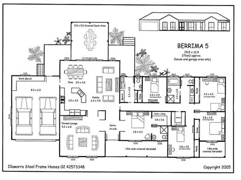 5 Bedroom Home Plans | simple 5 bedroom house plans 5 bedroom house plans 5