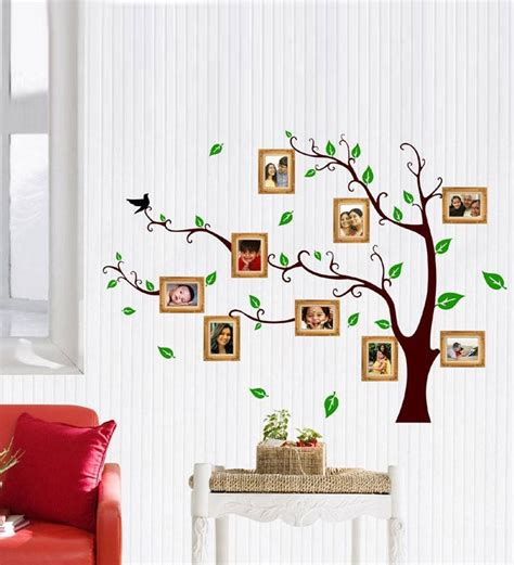 tree wall decals for living room family tree sticker for wall peenmedia