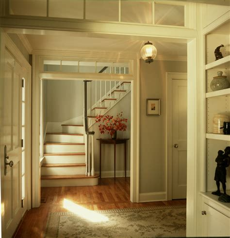 transom windows interior entry foyer with transoms openings traditional