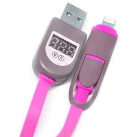 Kabel Data 2 In 1 Zipper Duo Magic Lightning Micro Usb W L T0210 1 smartphone accessories aksesoris handphone harga murah jakartanotebook