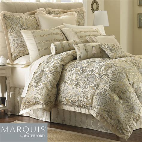 waterford bedding fairfield scroll comforter bedding from marquis by waterford