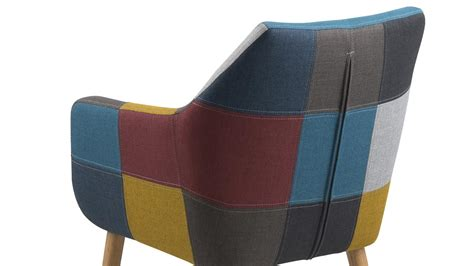 stuhl nora stuhl nora armlehnstuhl sessel in stoff patchwork bunt eiche