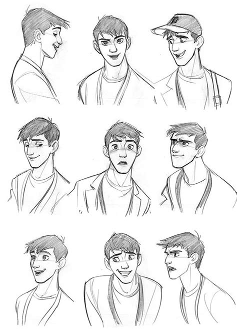 X Character Sketches by 25 Best Ideas About Expressions On