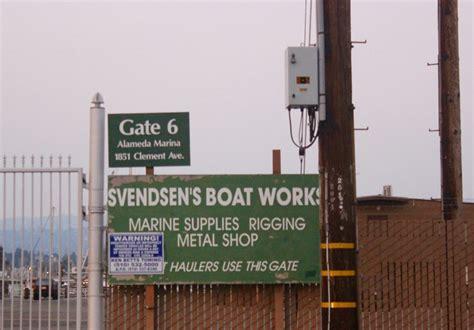 boat supplies alameda ca svendsen s boatworks to close 11 1 17 fix it anarchy