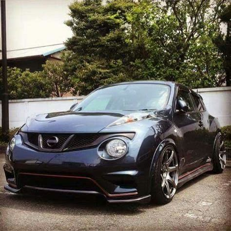 stanced nissan juke slammed on pinterest