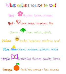 exercise 1b colour what it means represents to me