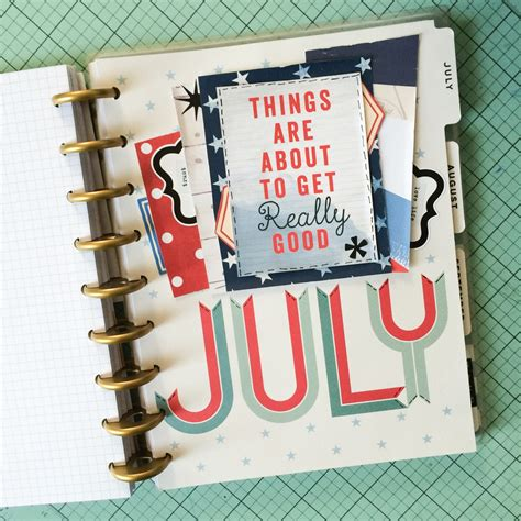Happy Dasboard the happy planner make your planner dashboard into a
