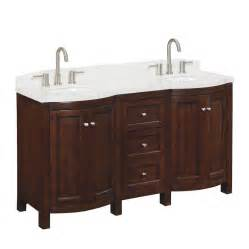 Allen Roth Bathroom Vanity Allen Roth Moravia Undermount Bathroom Vanity With Engineered Top 60 In X 20 In