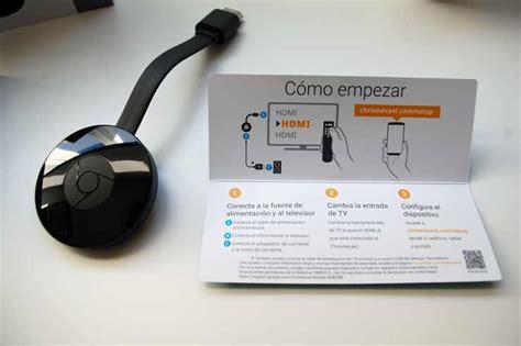 imagenes google chromecast probamos chromecast el dispositivo de streaming de google