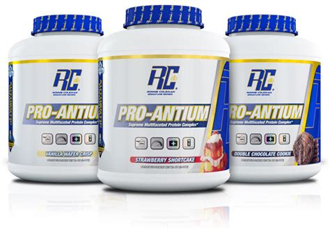 Whey Protein Pro Antium Pro Anitum By Ronnie Coleman Signature Series At