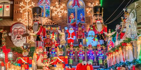 largest christmas lights displays photos dyker heights has the best lights in america photos business insider