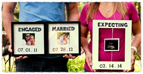 our pregnancy announcement we are a baby