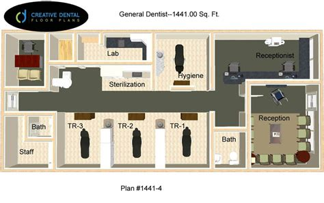 Floor Plan Dental Clinic Creative Dental Floor Plans General Dentist Floor Plans