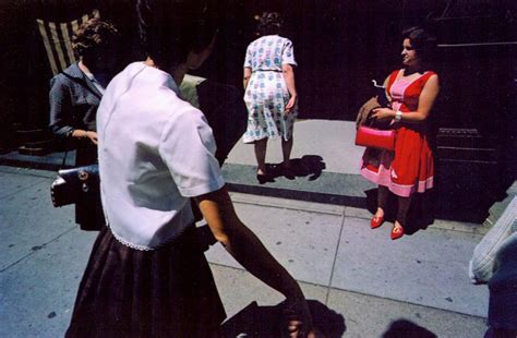 harry callahan the street harry callahan street scene woman in red providence