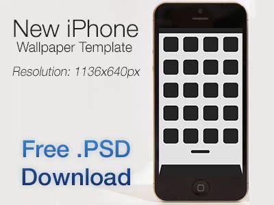 iphone  wallpaper template  psd   kai