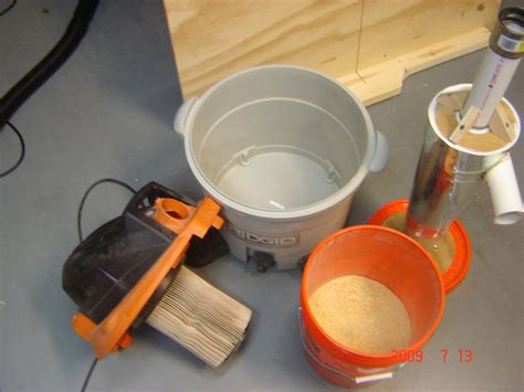Cyclone Dust Collector Diy Filter Tablesaw Dust Separator Pemisah Se wood dust collection reviews