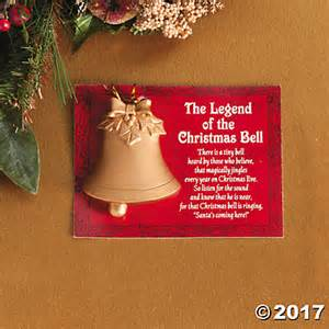 legend of the christmas bell christmas ornaments