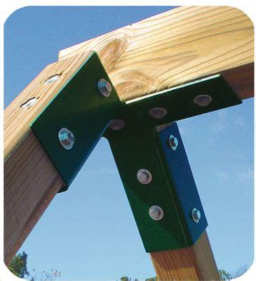 swing set a frame bracket a frame swing set bracket http www planitplay com v