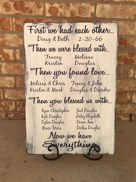 60th wedding anniversary gift ideas for grandparents we had each other 40th anniversary gift 50th