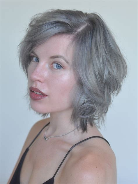 best short ash blonde hair style for older ladies 243 best grey silver images on pinterest silver hair
