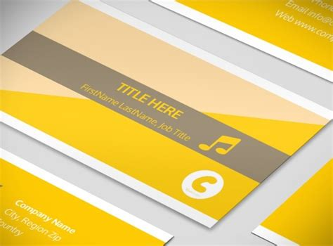 Band Business Card Templates Free by Jazz Band Business Card Template
